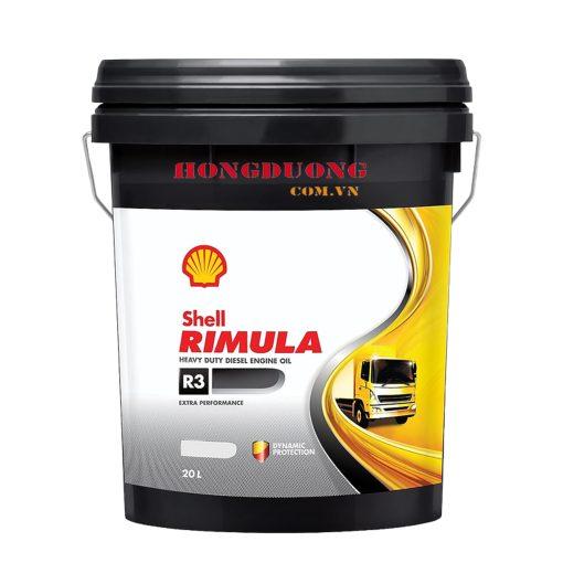 Dầu tuabin Shell Rimula R3 Turbo 20W-50