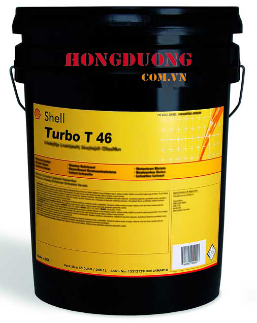 Dầu tuabin Shell Turbo Oil T 46