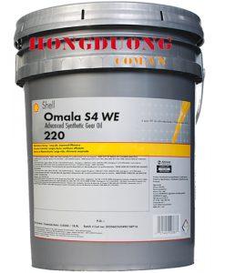 Dầu bánh răng Shell Omala S4 WE 220