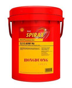 Dầu hộp số Shell Spirax S2 A 80W-90